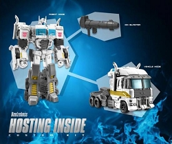 Beelzeboss BLZ-08H Hosting Inside Custom Kit