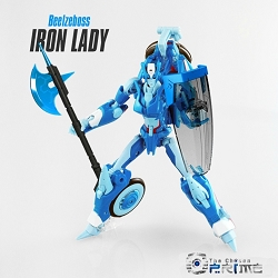 Beelzeboss Iron Lady Custom Kit BLZ-06 - For IDW Chromia & Arcee