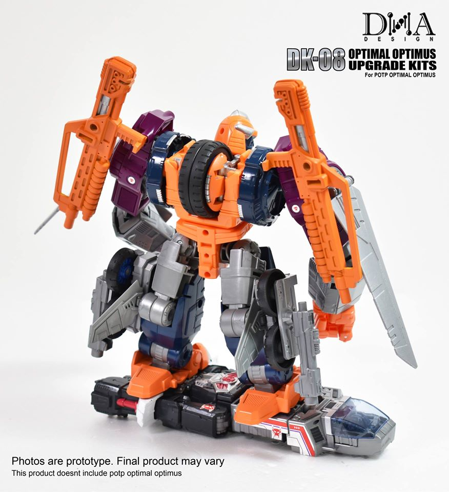 Transformers DNA Upgrade Kits DK-08 For Optimal Optimus,In stock!