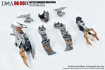 DNA Design DK-09EX Upgrade Kit for Studio Series Battle Damaged Megatron