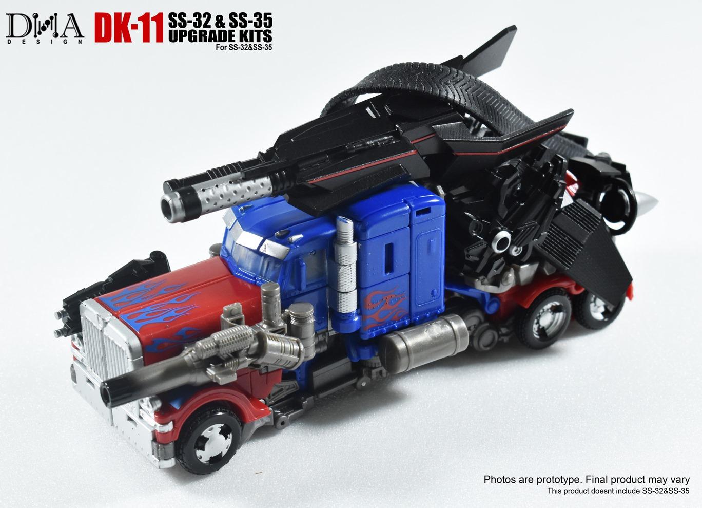 New DNA Design DK-11 Upgrade Kit Apply Studio Series SS-32 SS-35 transformers
