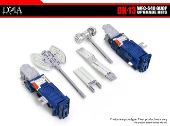 DNA Design DK-13 Upgrade Kit for Transformers; Siege Galaxy Upgrade Optimus Prime