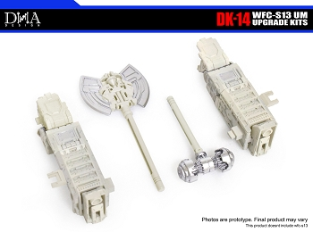 DNA Design DK-14 Upgrade Kit for Transformers; Siege Ultra Magnus