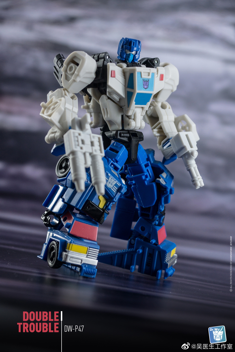 Dr.Wu DW-P47 Kits For Transformers Battletrap Double Trouble Toys New
