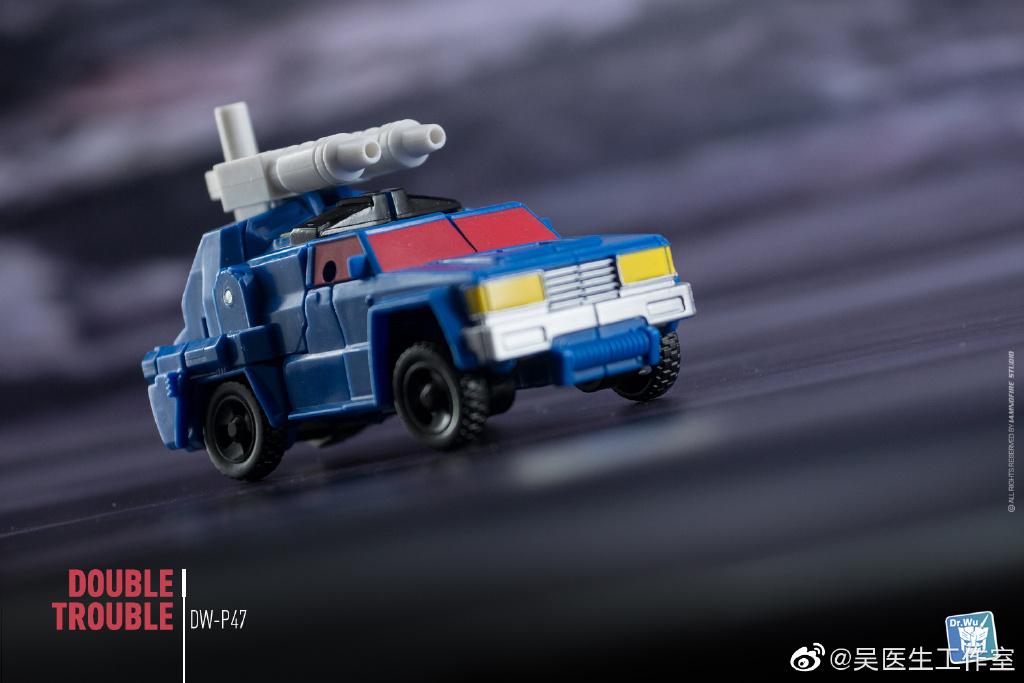 Dr.Wu DW-P47 Double Trouble upgrade kit for RoadTrap /& BattleSlash,In stock