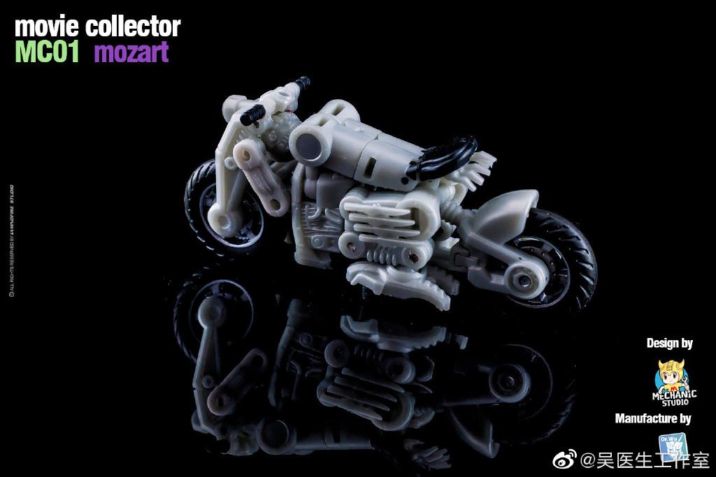 New Dr.Wu /& Mechanic Studio MC01 Mozart Movie Collector Action Figure in sotck