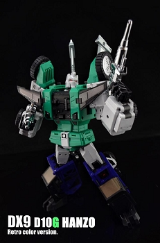 DX9 Toys D10G HANZO (Retro Color Version - Green)