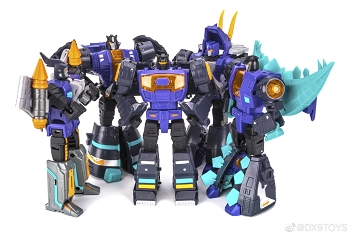 DX9 Toys War in Pocket DINOBOT GIFT SET (BLACK/PURPLE)