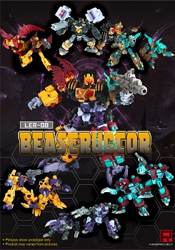 Fansproject SAURUS RYU-OH BEASTRUCTOR COMBINER GIFT SET