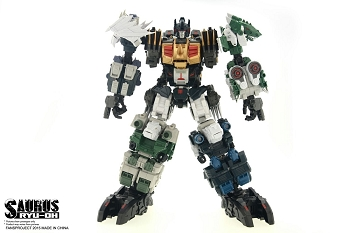 Fansproject SAURUS RYU-OH COMBINER SET