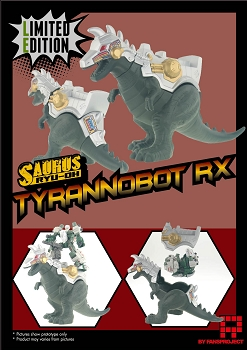 Fansproject Saurus Ryu-Oh TYRANNOBOT