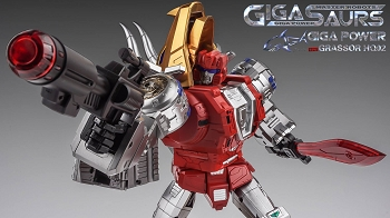 Gigapower GRASSOR (Metallic Version)