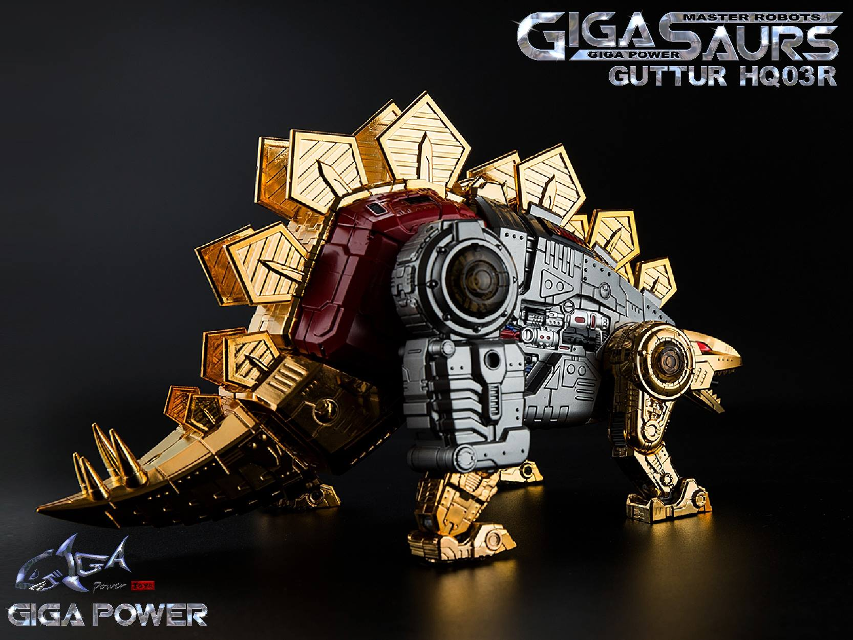 Gigapower GP HQ-03R Dinobot Gutter G1 Snarl 2020 Reissue New