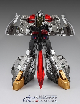 Gigapower HQ-04 GRAVITER (Metallic Version)