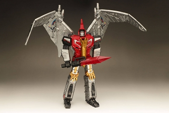 Gigapower HQ-05 GAUDENTER (Metallic Version - Red Chest)