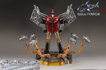 Gigapower HQ-05R GAUDENTER (Chrome Version - Red Chest)