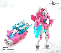Iron Factory EX16 PINK ASSASSIN