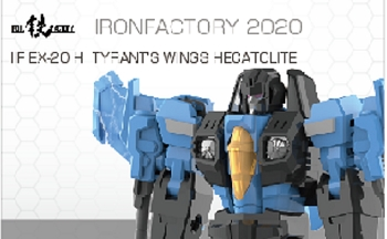 Iron Factory EX20H Tyrant's Wings HECATOLITE