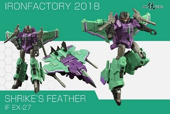 Iron Factory EX27 SHRIKE'S FEATHER