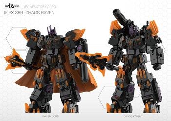 Iron Factory EX36R CHAOS RAVEN