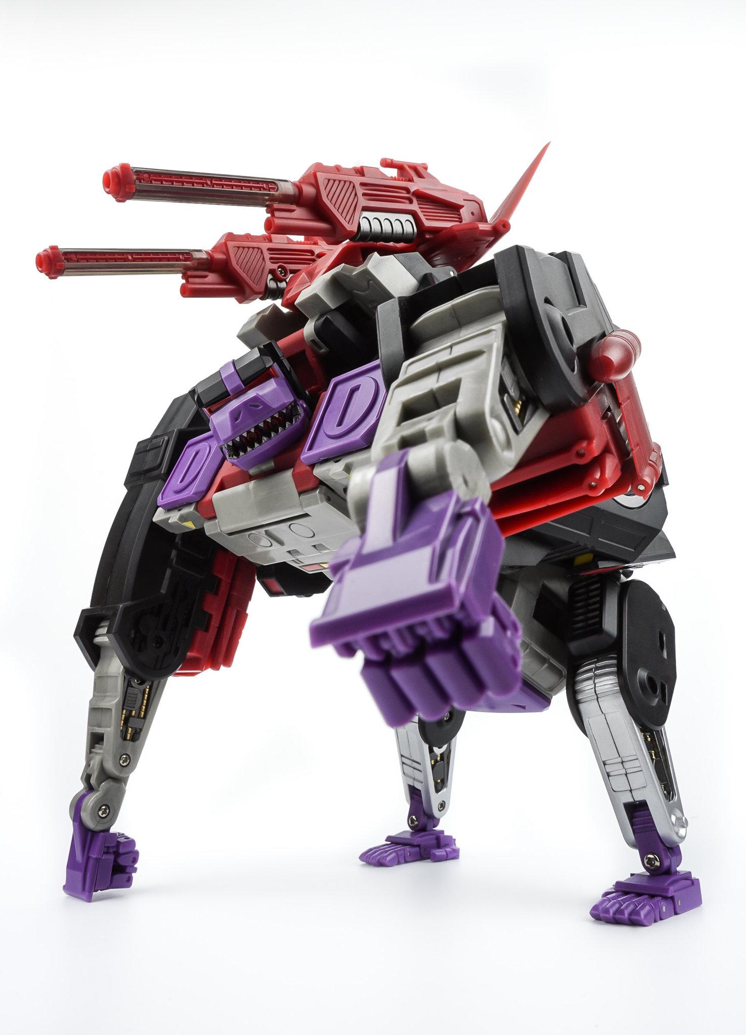 New KFC Toys Transformers G1 Eavi Metal PHASE 10 A MP Kingorilla Komodu In Stock