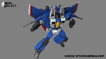 MAAS Toys AIR SOLDIERS MS-02 STORMBREAKER