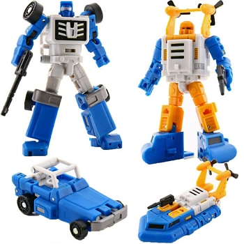 Magic Square Toys B03 FOUR WHEEL DRIVE and B05 SURFER Set