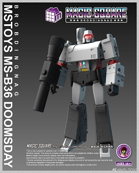 Magic Square Toys B36 DOOMSDAY (RAGNAR)