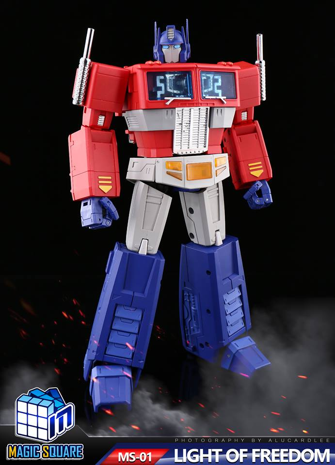 Magic Square Toys Ms01 Light Of Freedom