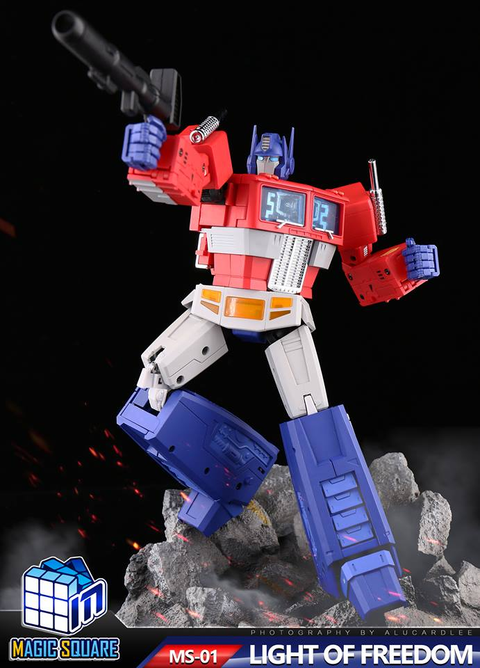Price Of Freedom >> Magic Square Toys MS01 LIGHT OF FREEDOM