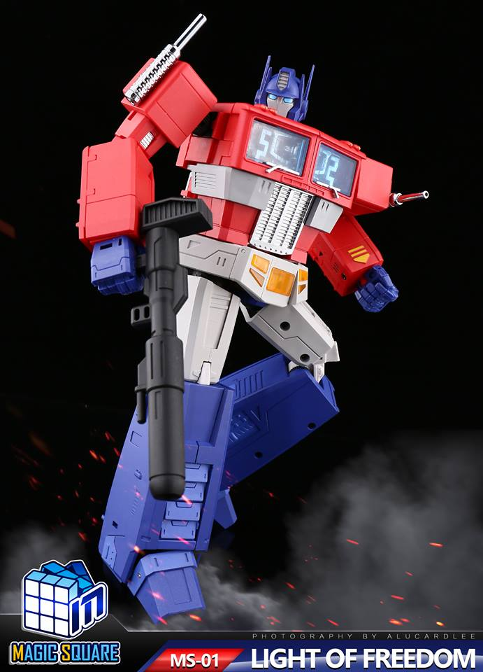 InStock Transformation Magic Square TOYS MS01 Light of Freedom Optimus Prime 3.0