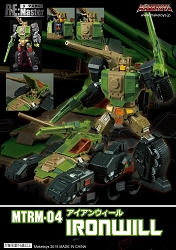 MakeToys MTRM-04 IRONWILL