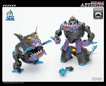 MechFansToys MF-26 ADVANCED SHARKS (3-Pack)