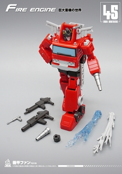 MechFansToys MF-45 FIRE ENGINE
