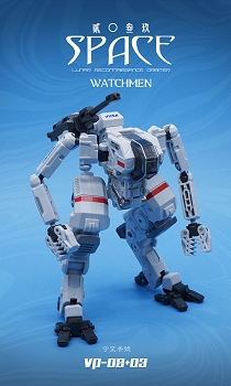 MechFansToys Vecma Studio Space 2039 VP-03