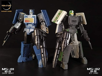 Moon Studio MS-02 ICE LAND (Radiatron Combiner Team)