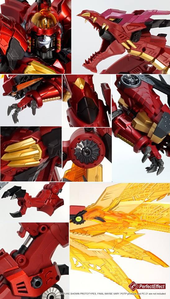 List Of Transformers >> Perfect Effect DX09 MEGA DORAGON