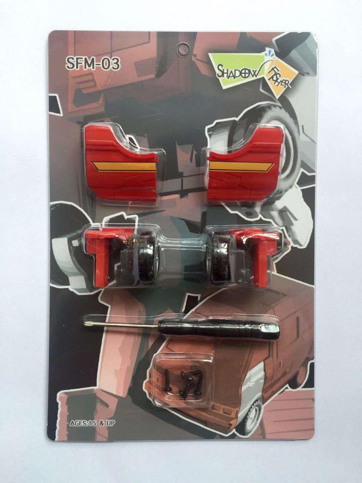 Shadow Fisher MP27 Ironhide SFM-03 action figures IN STOCK