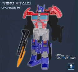 S.N.D. PRIMO VITALIS Upgrade Kit for CW Optimus Prime