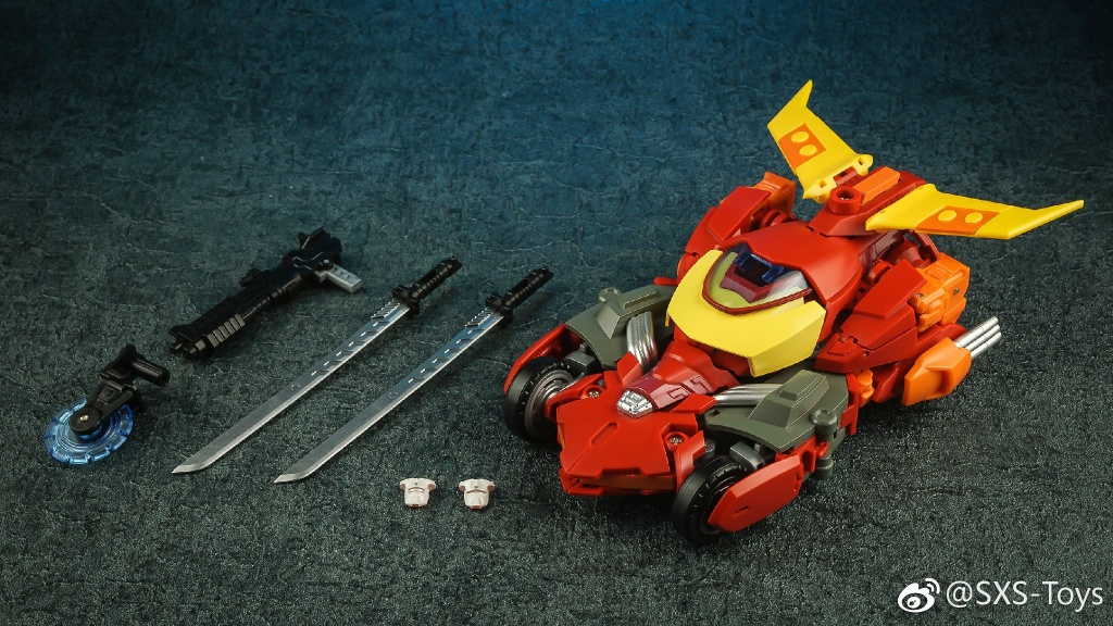 New SXS Toy R04 Transformers R04 Hot Flame IDW Hot Rod Action Figure In stock