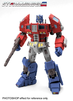 TFC Toys ST-01B SUPREME TACTICAL COMMANDER (RED & BLUE)