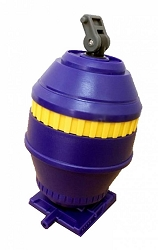 Toyworld TWC Purple Barrel for Concrete
