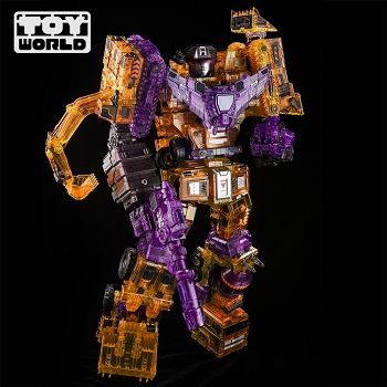 Toyworld TW-C07D CONSTRUCTOR Full Box Set (Clear Yellow Version)