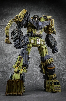 Toyworld TW-C07G CONSTRUCTOR (Old Green Weathered Version)