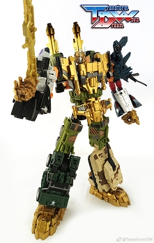 Transform Dream Wave TCW-01B Upgrade kit for Takara UW-EX Baldigus