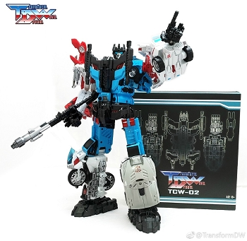 Transform Dream Wave TCW-02 Upgrade kit for Defensor