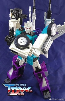 Transform Dream Wave TCW-05 Upgrade kit for Sixshot
