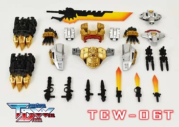 Transform Dream Wave TCW-06T Upgrade kit for TGS Volcanicus / Dinobots