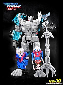 Transform Dream Wave TCW-10 Upgrade kit for Takara GS King Poseidon