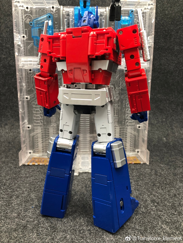 NEW Transform Element TE01B TE-01B Optimus Prime Commander In Stock
